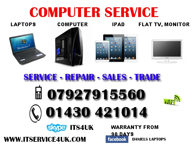 computer service IN North Ferriby